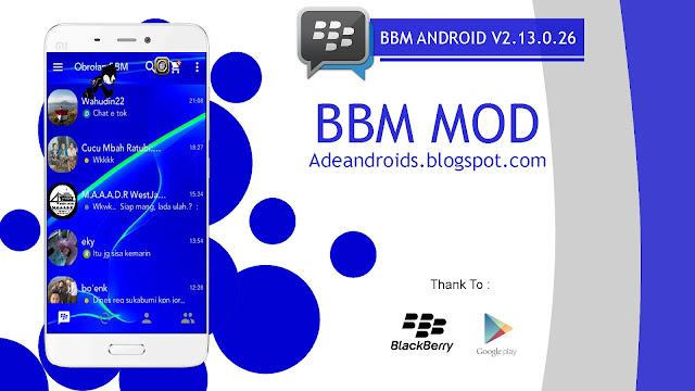 BBM MOD Base V2.13.0.26 Apk Terbaru