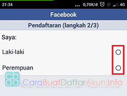 yahoo mendaftar facebook