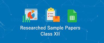 cbse class 12 sample model practice papers