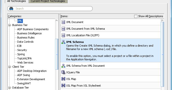 soanen - Martti's SOA Blog: Tutorial 1 part 11 - create XML