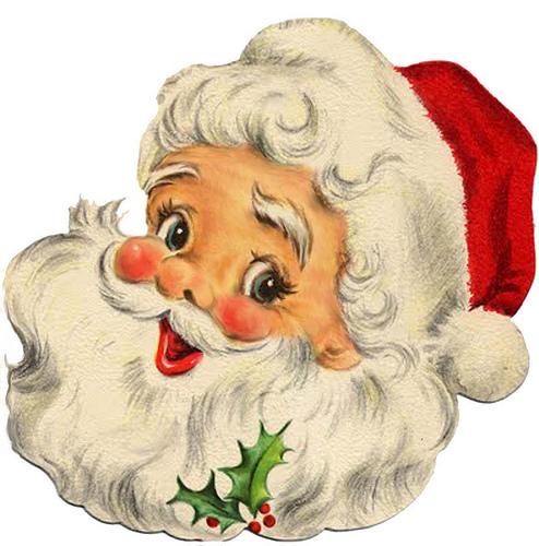 Cute Santa Claus Clipart