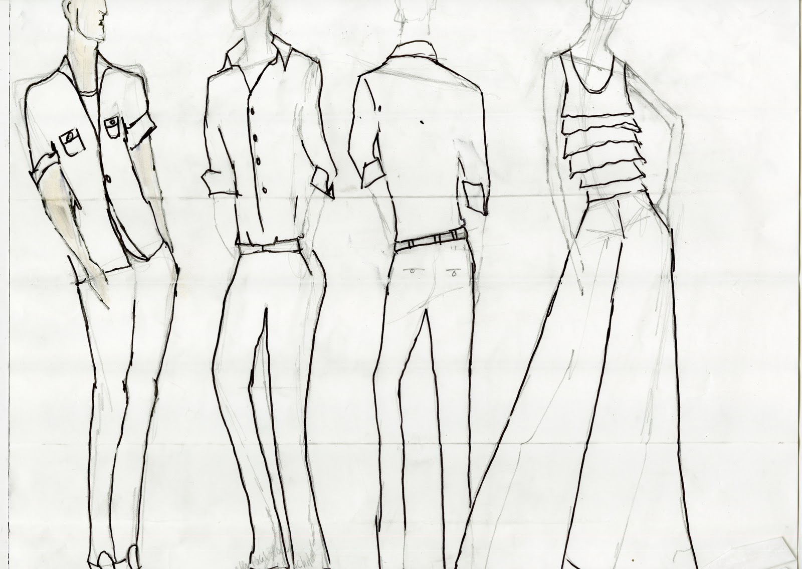Kelseo Fashion: BODY PROPORTION MALE & FEMALE