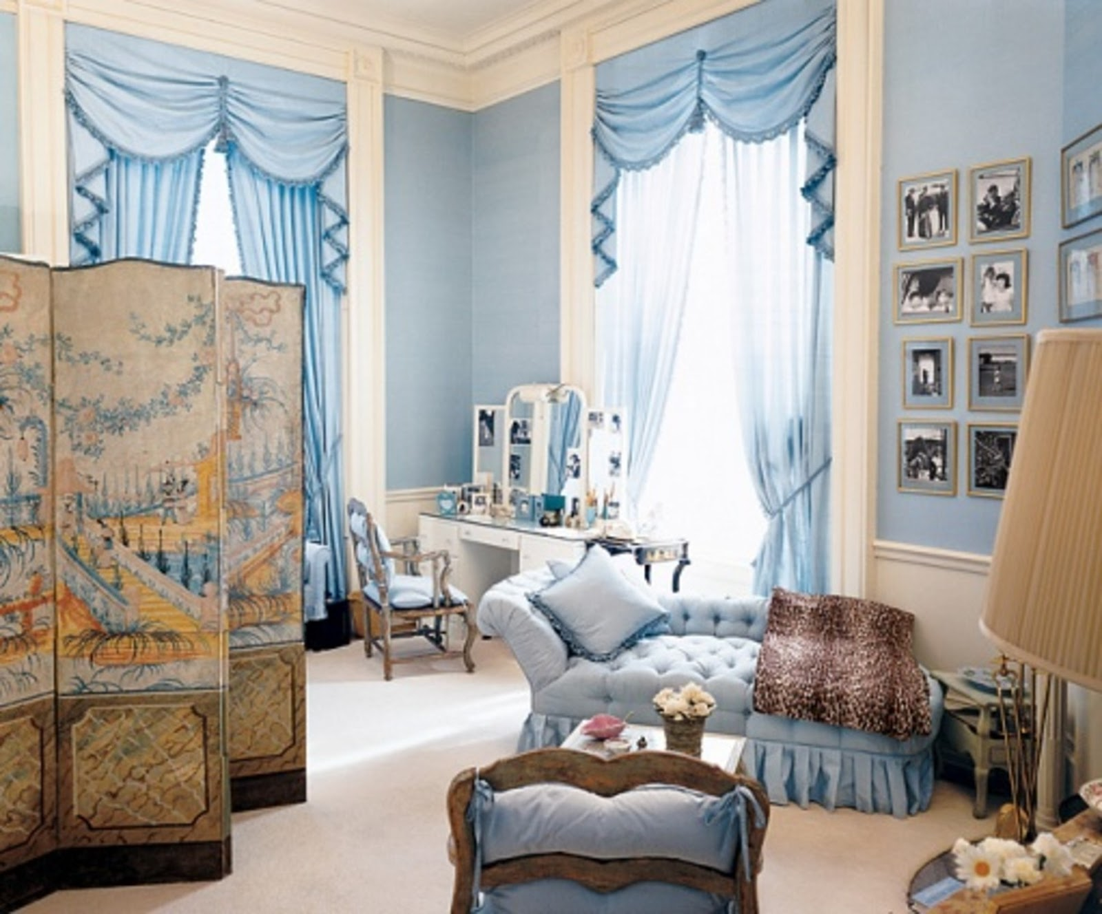 Jacqueline Kennedy's White House Bedroom - The Glam Pad