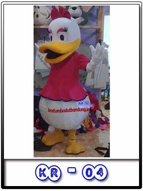 foto kostum karakter daisy donald badut