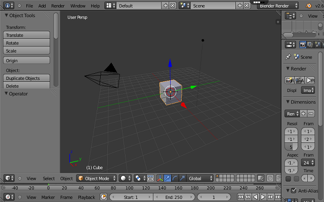 3d for Online 3d program