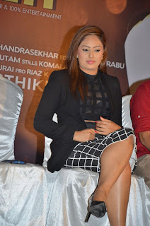 Actress Nikesha Patel Pictures at 7 Naatkal Press Meet  0013