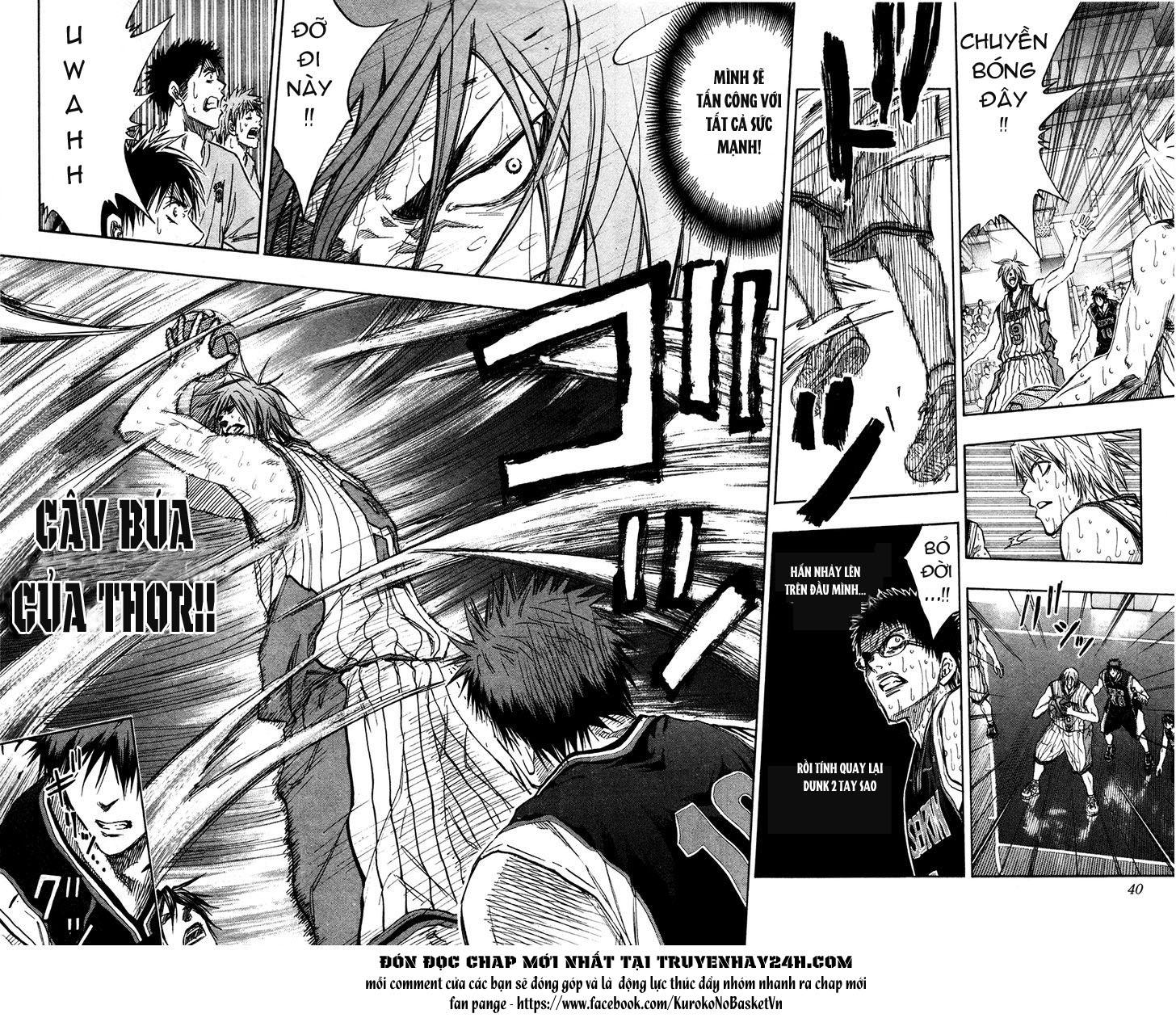 Kuroko No Basket chap 164 trang 14