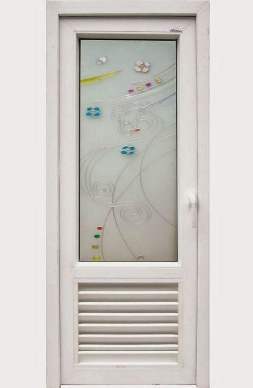 pintu aluminium putih 1