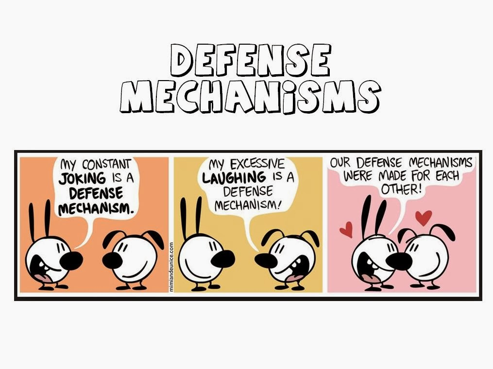 Medicowesome Defense mechanisms with images - defense mechanisms