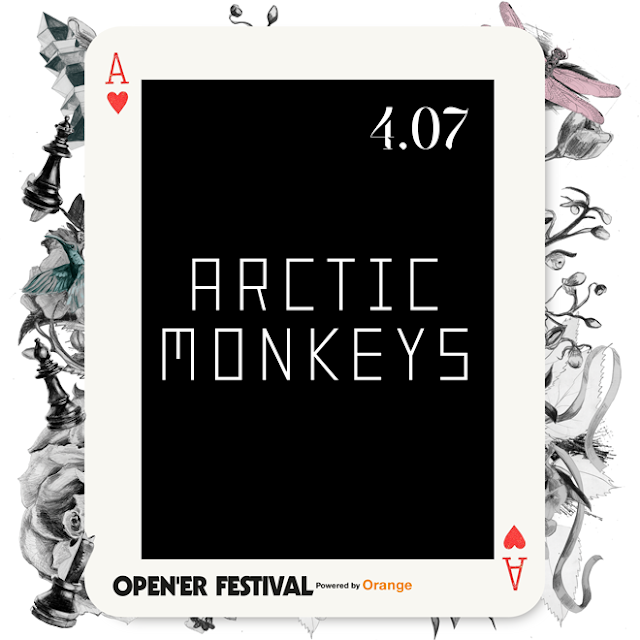 Arctic Monkeys headlinerem Open'er Festival 2018