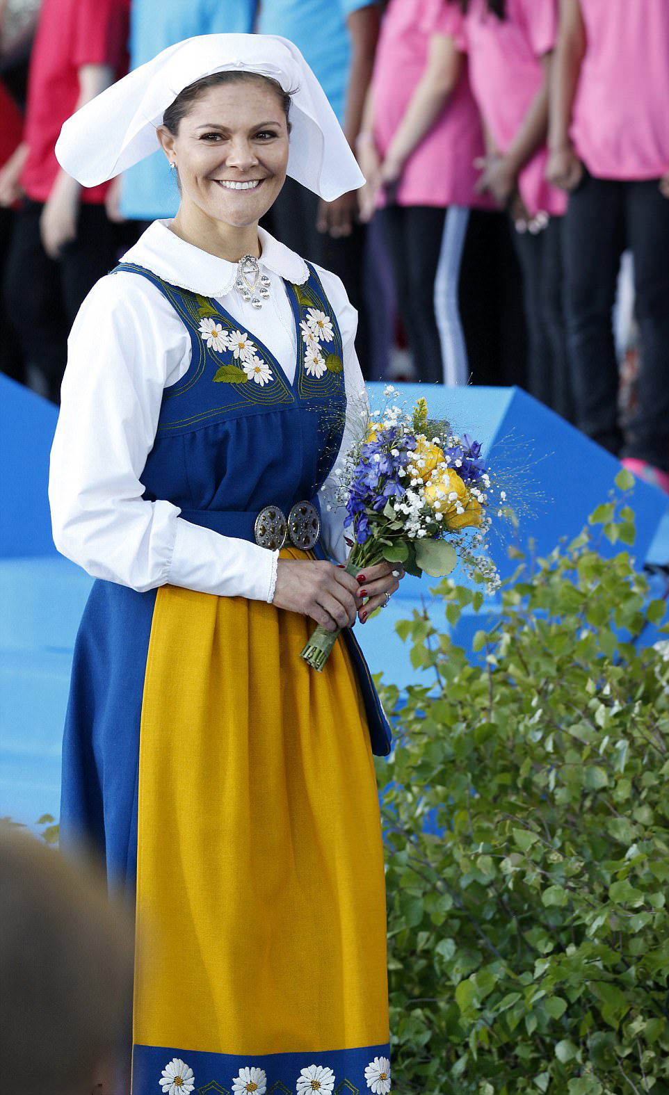 Swedish Crown Braid Tutorial: Royal Family Around The World: National Day In Sweden 2017