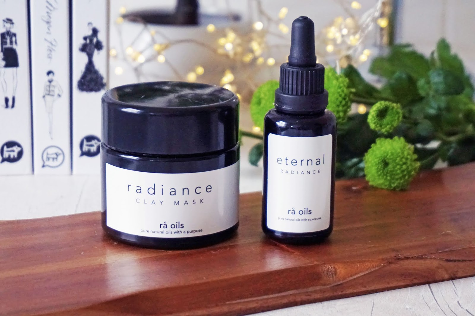 Ra Oils Radiance Clay Mask, Ra Oils Eternal Radiance