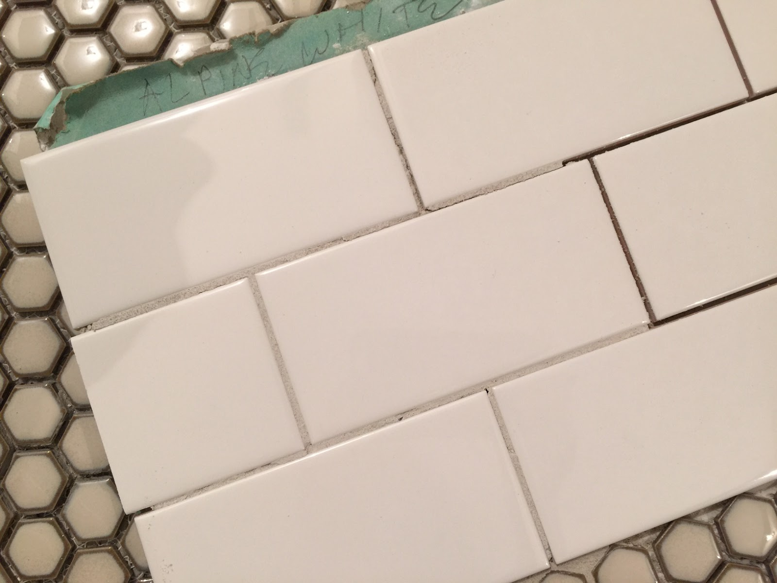 Unique Of Cats and Cardstock: Bathroom Remodel: Grout Colors RB39