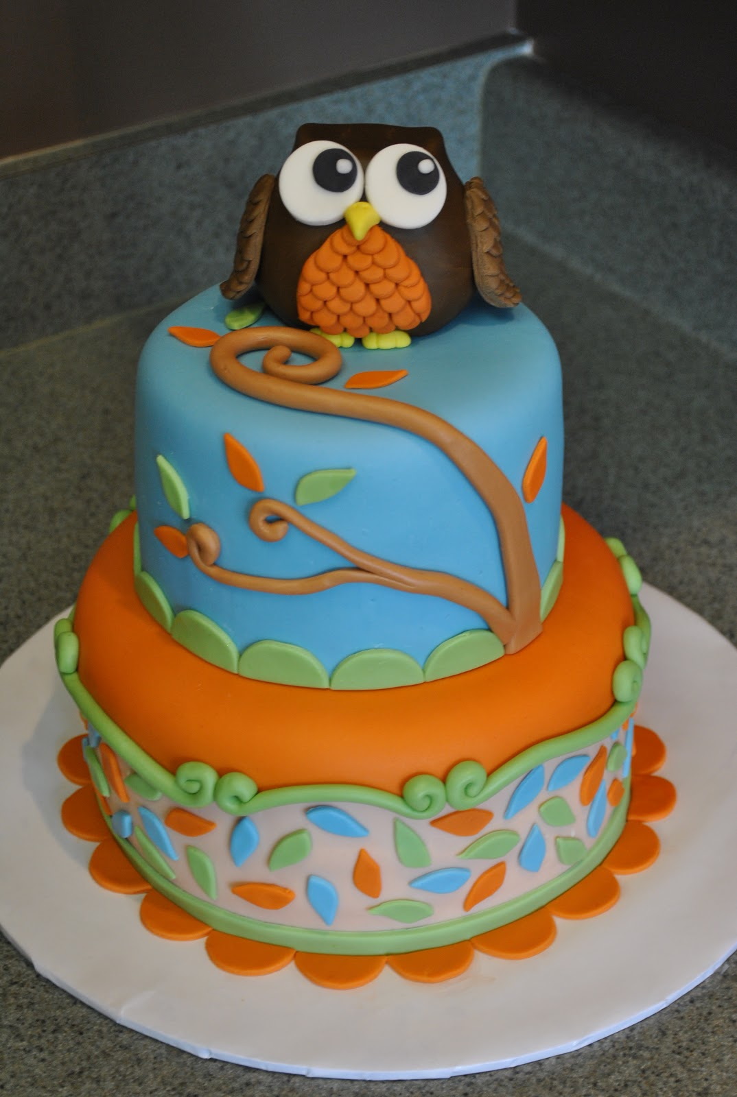 Hope S Sweet Cakes Owl Cake