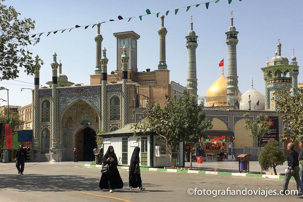 Mausoleo de Fátima o Hazrat-e Masumeh
