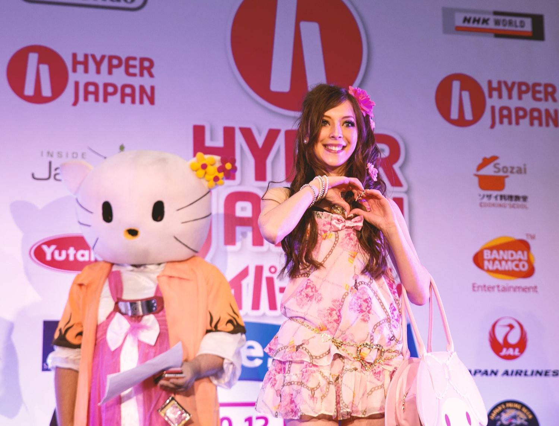 hyper japan summer 2015, hyper japan fashion show, agejo gyaru
