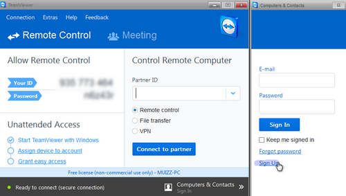 Cara Mengendalikan Komputer Orang Lain Dengan TeamViewer