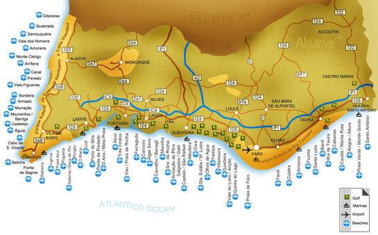 mapa de todas as praias do algarve ocantinhodalucy: Férias 2011   A caminho do Parque Campismo SBSI mapa de todas as praias do algarve