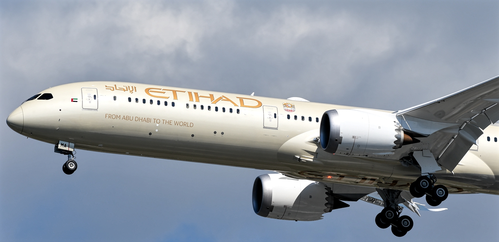Boeing 787-10 of Etihad Airways A6-BMB November 2018 Delivery