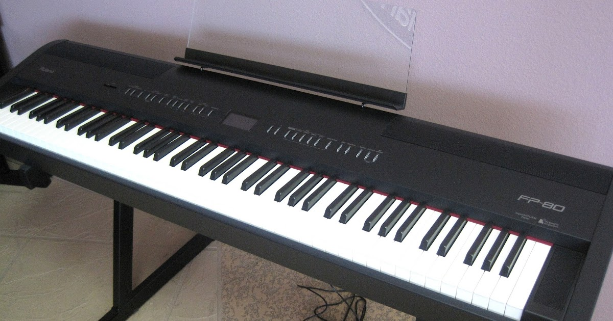 Azpianonews reviews review roland fp80 digital piano for Yamaha professional keyboard price