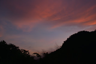 Puriscal sunset