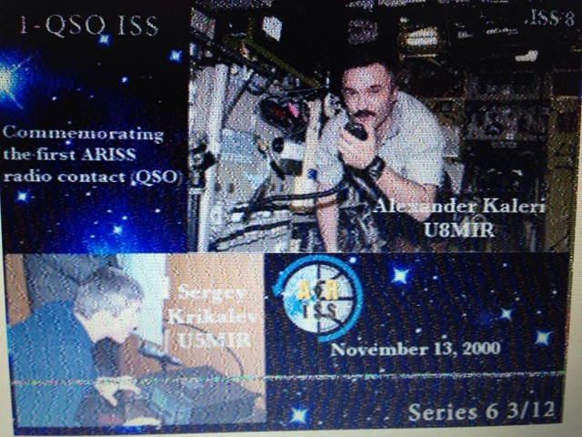 Makers eXperimenters and Operators: SSTV mode PD120 transmissions on