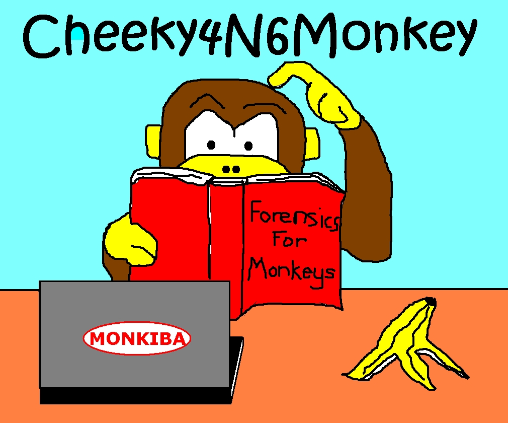 Cheeky4n6Monkey - Learning About Digital Forensics