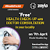 Zoylo - Get Health Check-up + Doctor Consultation Absolutely Free (All India)