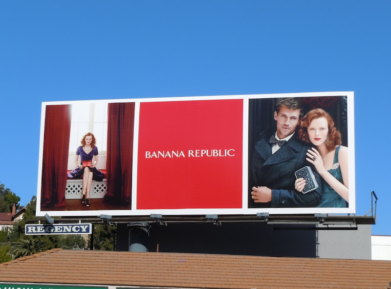 Banana Republic Holidays 11 billboard