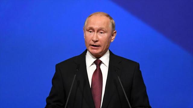 Putin advierte a EEUU de secuelas de su retirada del pacto nuclear