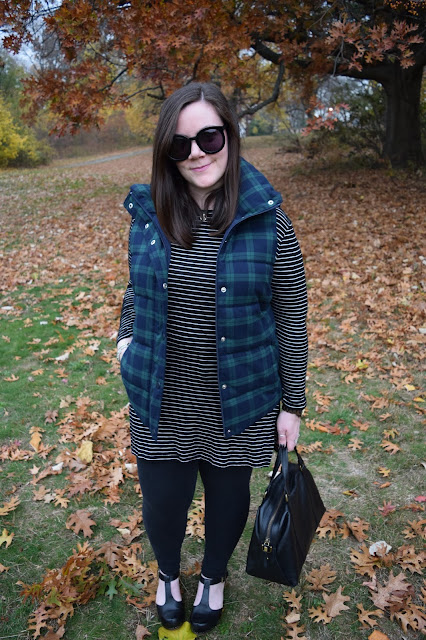 Sequins and Skulls: Stripes & Plaid, Again
