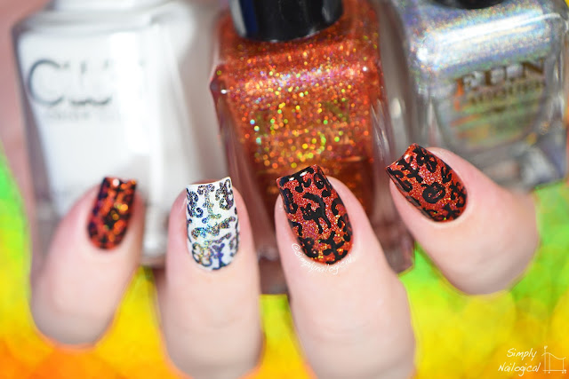Simply Nailogical Halloween Freehand Design Tgih