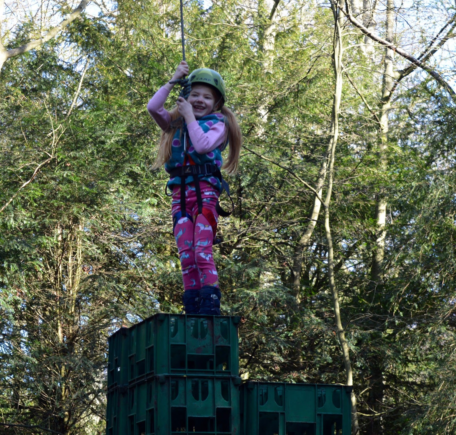 Beamish Wild | School Holiday Club & Activities in County Durham | North East England - at the stop of crate stack