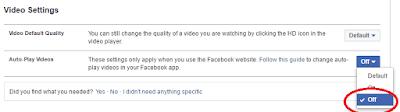 facebook auto-play off