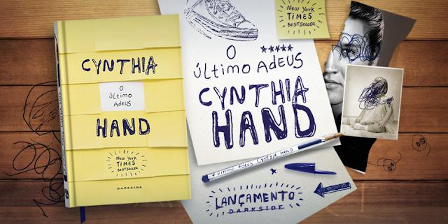 [Lançamento] O último Adeus | Cynthia Hand @DarkSideBooks