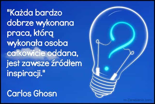 Carlos Ghosn, cytaty o pracy.