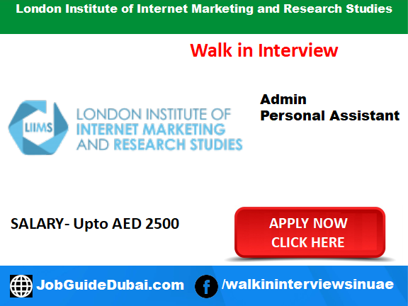 Job in Dubai at zayed road