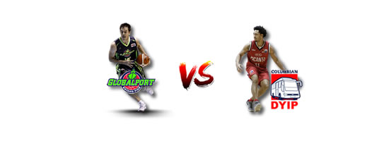 June 22: GlobalPort vs Columbian, 4:30pm Smart Araneta Coliseum