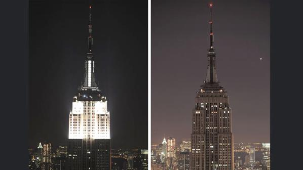Empire State Building ecologista World Wildlife Fund WWF 2013 ShurKonrad