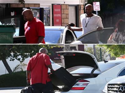 Lamar deja casa de kloe kardashian