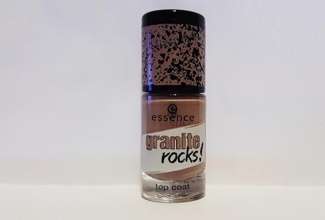 essence nailpolish nagellack, nail polish, review test, testbericht, top coat, granite rocks,