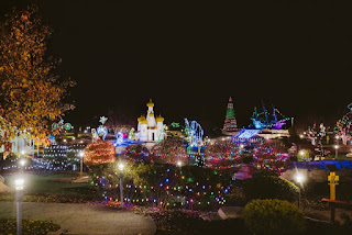 Holiday Lights Mini Golf at Fun Fore All, photo courtesy of Fun Fore All Family Fun Park
