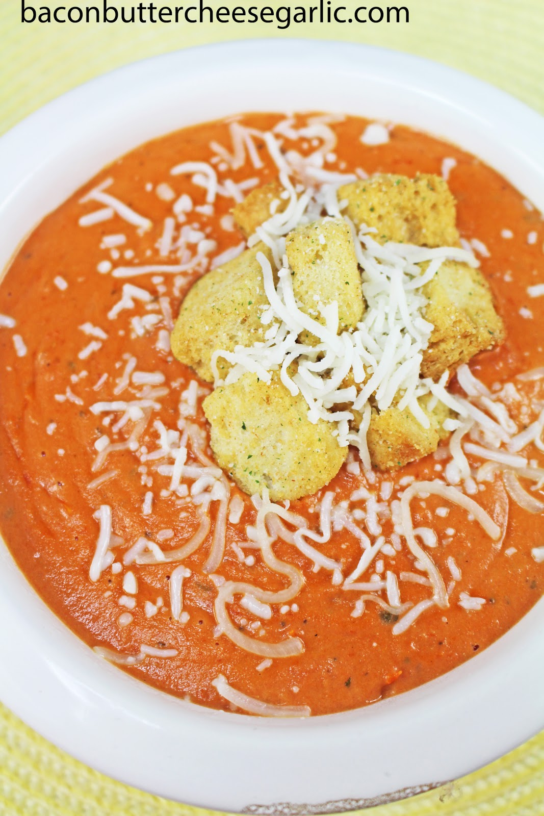 want a quick tomato bisque without the all day work this recipe ...