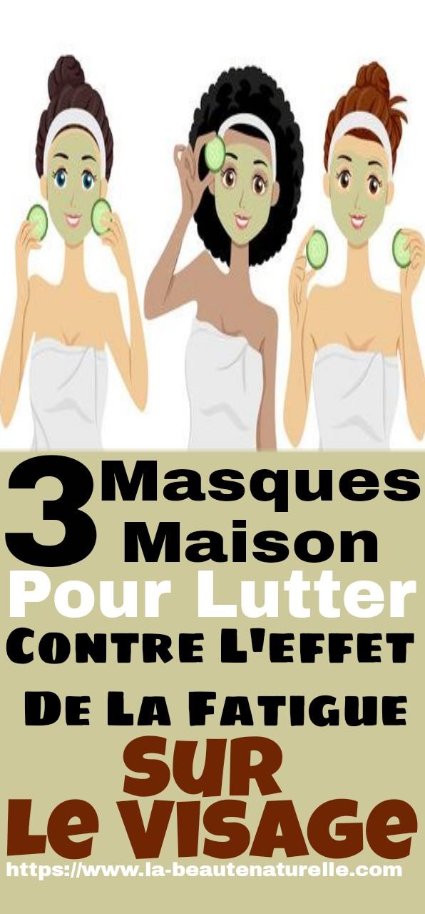 3 masques maison pour lutter contre l'effet de la fatigue sur le visage