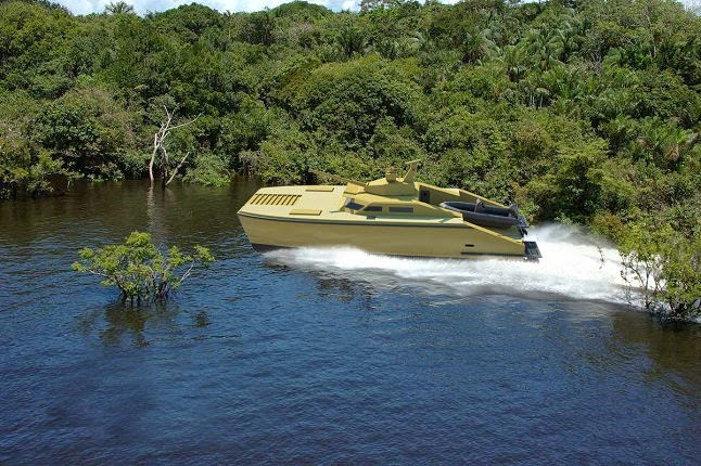 Tank Boat Swamp Battalion