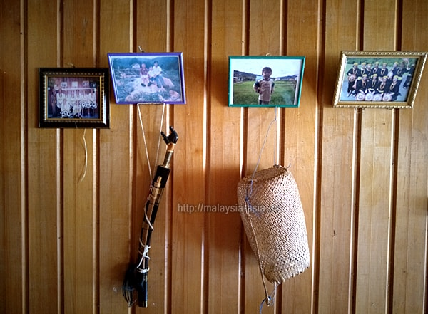 Decoration in a Lun Bawang Longhouse