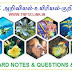 TNPSC Science Notes in Tamil: 6th Standard - Biology - The World of Plants