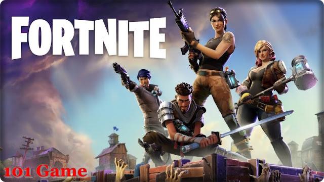 Новая экшн игра Fortnite от Epic Games.