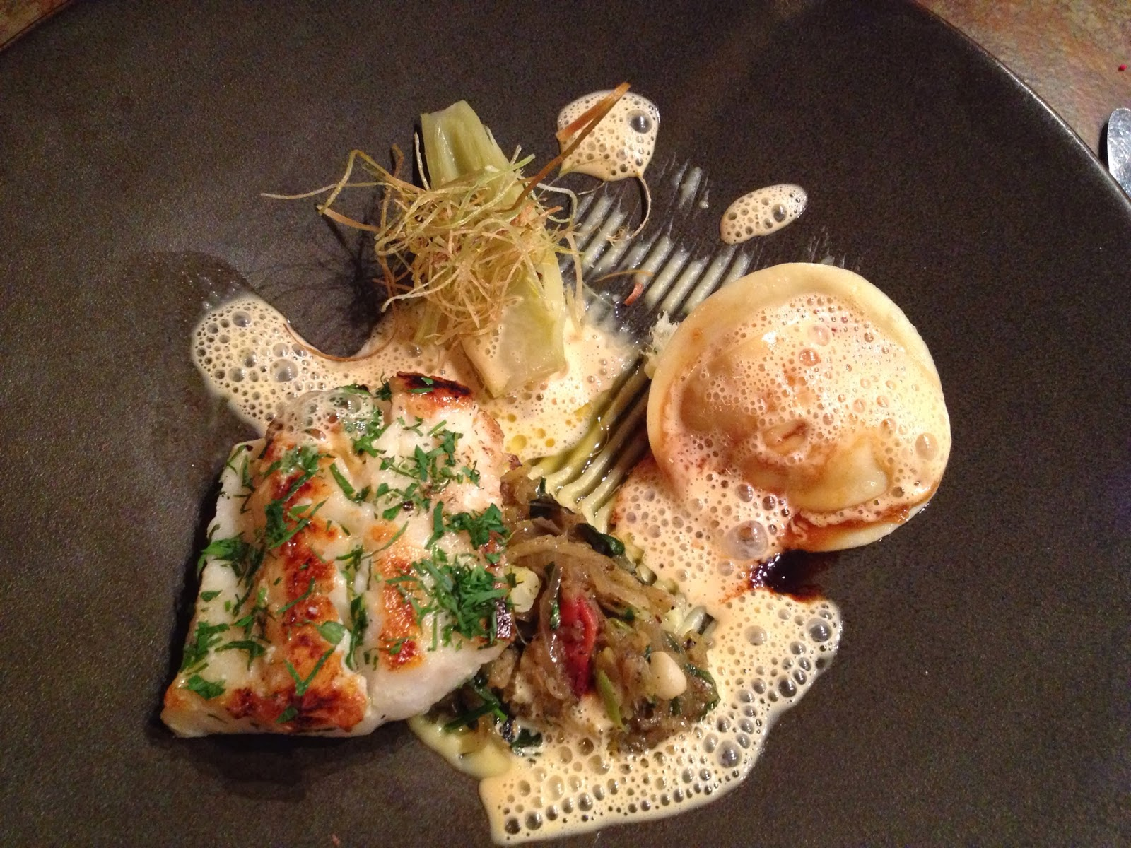 Cape Town - Pan fried line fish
