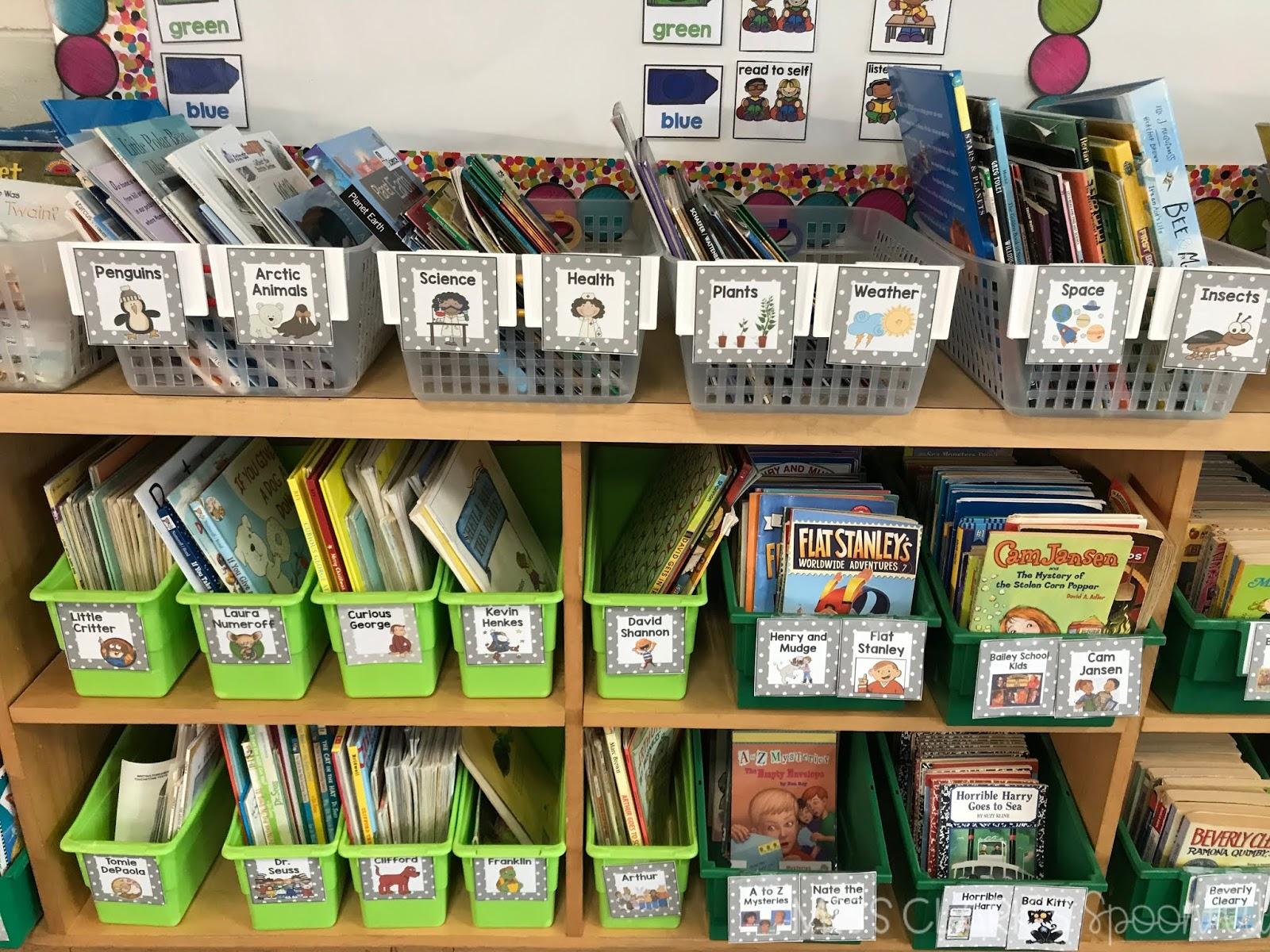 themed classroom library